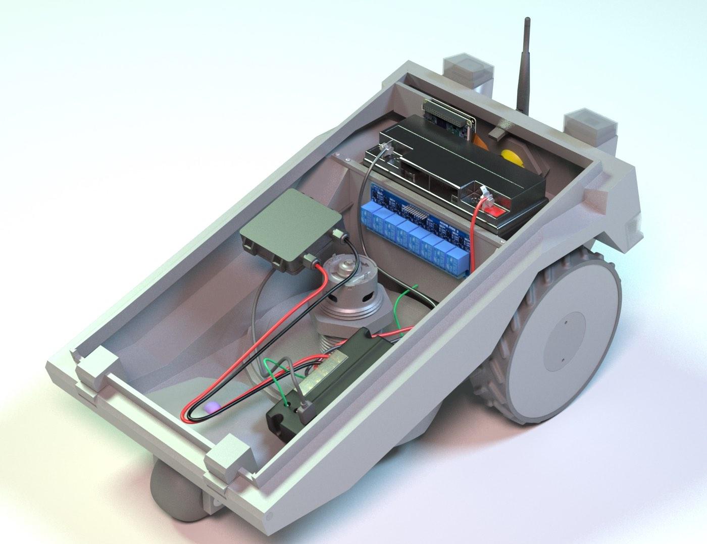 PiMowBot-inside