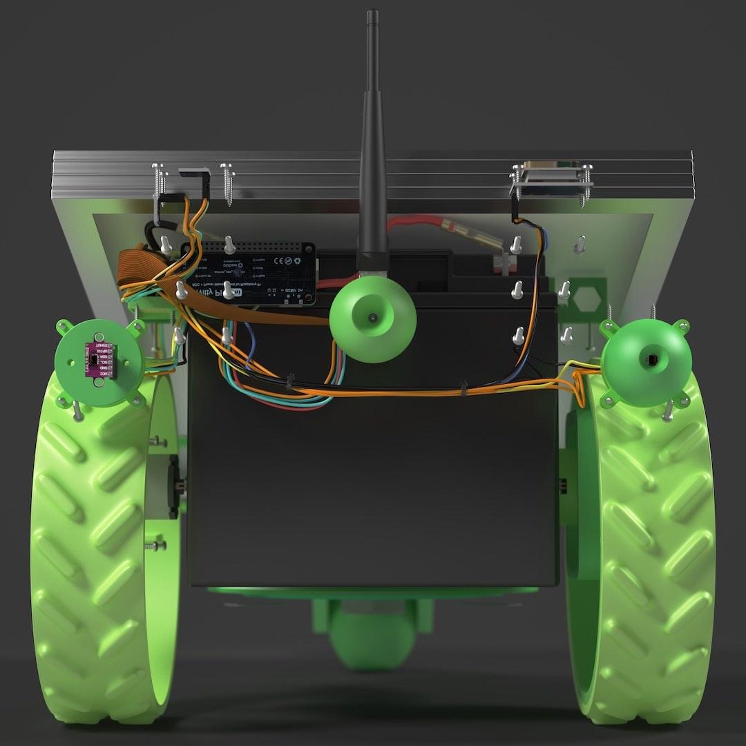 PiMowBot Sensor-Phalanx