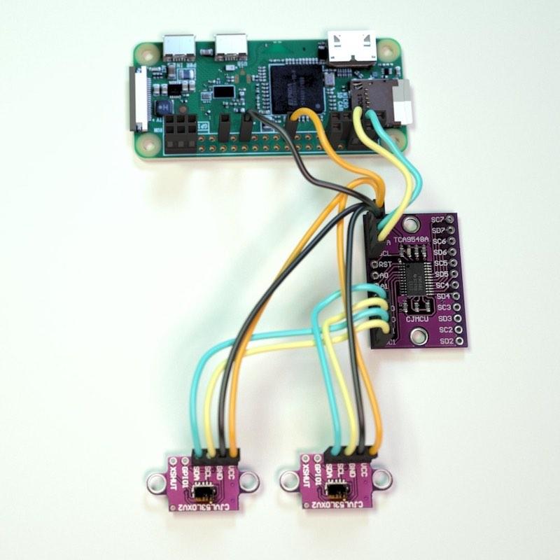 PiMowBot ToF-Sensoren